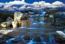 Waterval Fotobehang Muurposter