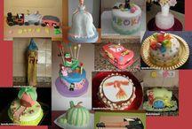 Repostería Creativa-Tartas Fondant / Tartas y Galletas decoradas con Fondant