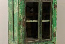 Antique kitchen storage