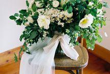 Green wedding shoot