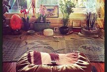 Meditation spaces