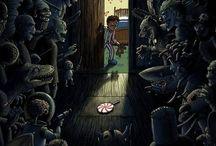 Art project - nightmares
