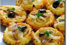 Tarte(lettes) salées