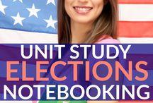 Homeschool: Elections Unit Study