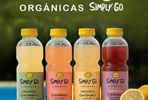 Simply Go / Limonadas orgánicas saborizadas www.simplygo.com.ar