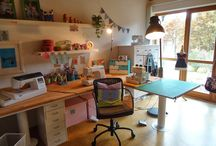 Sewing room / Inspiration!