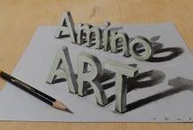 3D TEXT ART