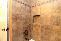 Shower Walls, Shower Caddies & Mosaic Tile