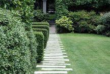 zahrada dlažba