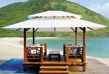 cenador balines / Diseño, producción y fabricación exclusiva y ecológica por www.comprarenbali.com