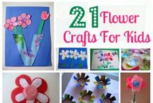 Flower Craft Ideas / by Katie Szymczak