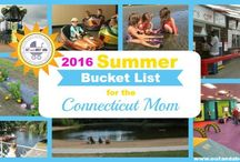 Connecticut Summer Bucket Lists / Every year we put together a list of 50+ must-do summer outings for the Connecticut mom! Find all our Summer Bucket Lists here.