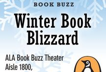 The ALA Midwinter 2014 Penguin Book Buzz! / We are really excited about our upcoming Winter Book buzz blizzard at the 2014 ALA Midwinter conference, Jan 26th from 4:15 - 4:45!  Join us in the book buzz theatre; the entrance is near booth 1815!   / by Penguin Group (USA) Librarians Den