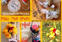 Mother's Day Gifts & Ideas / Tussue Mussie's featured at PineCreekStyke