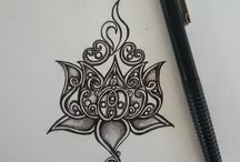 tattoo ideas for cover up / by Michy.