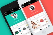 Fashion mobile Ui design