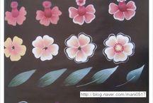 paso a paso pintura decorativa / Pinceladas