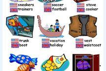 English vs american