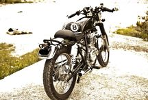 GN250 Cafe Racer by Spyros Eledin / A lot of personal work on this GN 250 by Spyros!