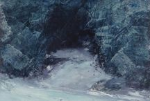 Sea Cave series - oil paintings by David Ladmore