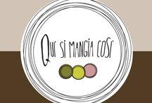 Branding | deli shop / logo and brand design for a new delicatessen shop with 3 specialties (pesto, oil & gnocco fritto)
