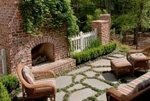 Inspiration Outdoor Fireplaces and Fire Pits / Keeping you warm during winter! Check out our blog: http://www.aralia.org.uk/blog/outdoor-fireplaces-for-style-comfort.html