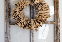 Burlap baby!  / by Carly Wooley