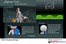 Website designs / Website designs by students of www.bapugraphics.com