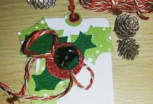 christmas cards made by me