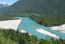 rio puelo / rio puelo, decima región de los lagos, chile