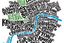 typographic maps / by Joris Van Gelder