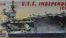 USS INDEPENDENCE CV-62
