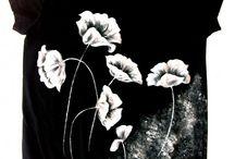maľovaný textil