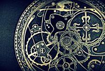 clock / skeleton clock