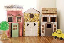Cabanes en carton