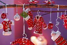 Christmas artcraft / inspirations, tutorials, DIY