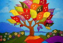 árbol alegre
