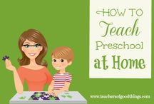 preschool homeschool / by Amanda Butcher
