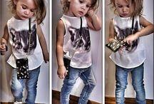 look infantil menina