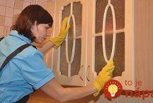kuchyňa čistenie