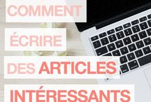 création blogs
