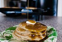 Pancakes with oar