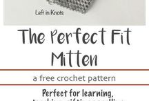 Crochet Mittens and Wrist Warmers / Crochet patterns for modern and beginner friendly mittens, mitts, wrist warmers, arm warmers and fingerless gloves.  Most patterns are free!