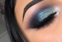 göz  eye make up