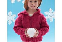 Child Knitting Patterns / Knitting patterns for child sized garments for little girls and boys