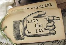 Save The Date / by Bespoke-Bride
