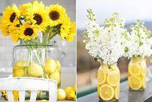 Sunny Days - Deko mit Sonnenblumen