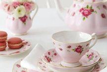 søte kopper og skåler