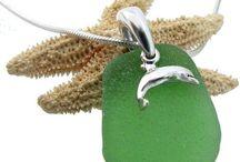 Sea Charmed Sea Glass Jewelry