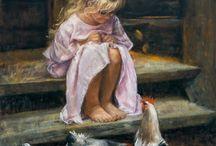 Art - Alina Sibera / Piękne obrazy polskiej malarki Aliny Sibera (pełna galeria http://alinasibera.pl/)